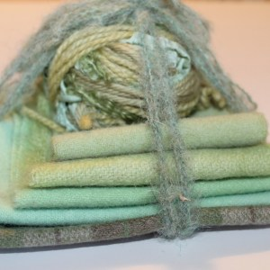 Light Green Fiber Bundle
