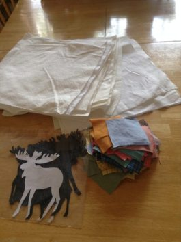 Components for moose wall hangings