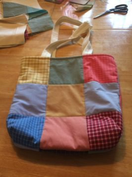 Tote bag #2 side A