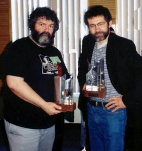 Prix Aurora 1998: Jean-Pierre Normand (illustrateur) & Jean-Pierre Guillet (auteur)