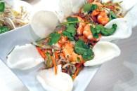 Tra Vinh Vietnamese Restaurant's Prawn Pomelo Salad