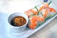 Tra Vinh Vietnamese Restaurant's Fresh Prawn Spring Roll