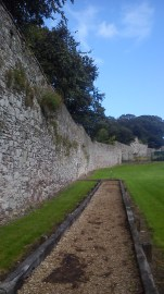 historic town walls youghal
