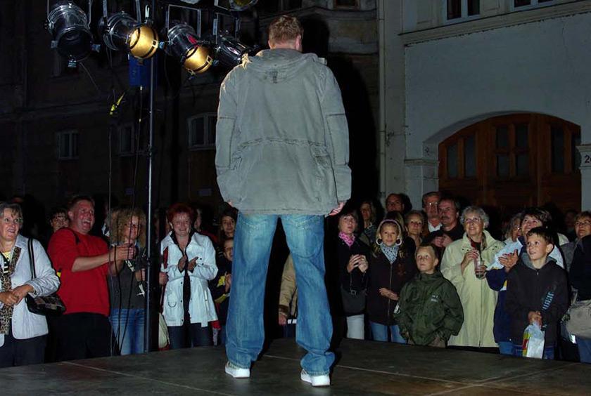 Modenschau Güstrower Einkaufsnacht 2008