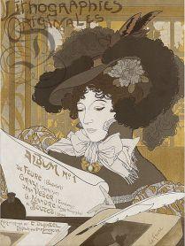 Album de lithographies originales n° 1 1900