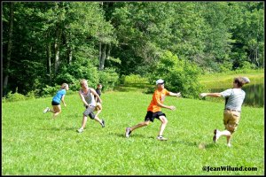 Nothing like flag football in the mountains!
