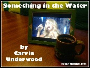 "Click photo to view: ""Something in the Water"" by Carrie Underwood"