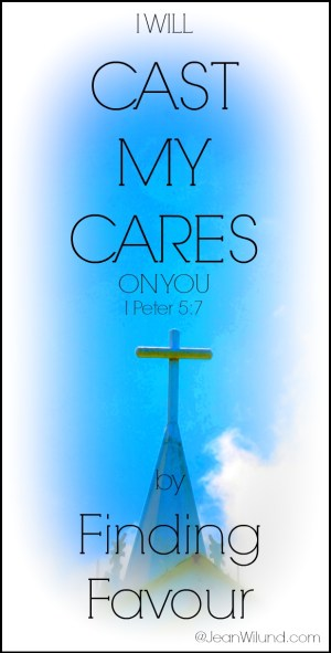 """Click to watch the music video """"Cast My Cares"""" by Finding Favour via www.JeanWilund.com"""