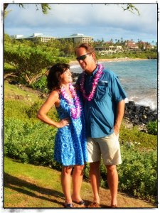 Larry & Jean at Luau 2015