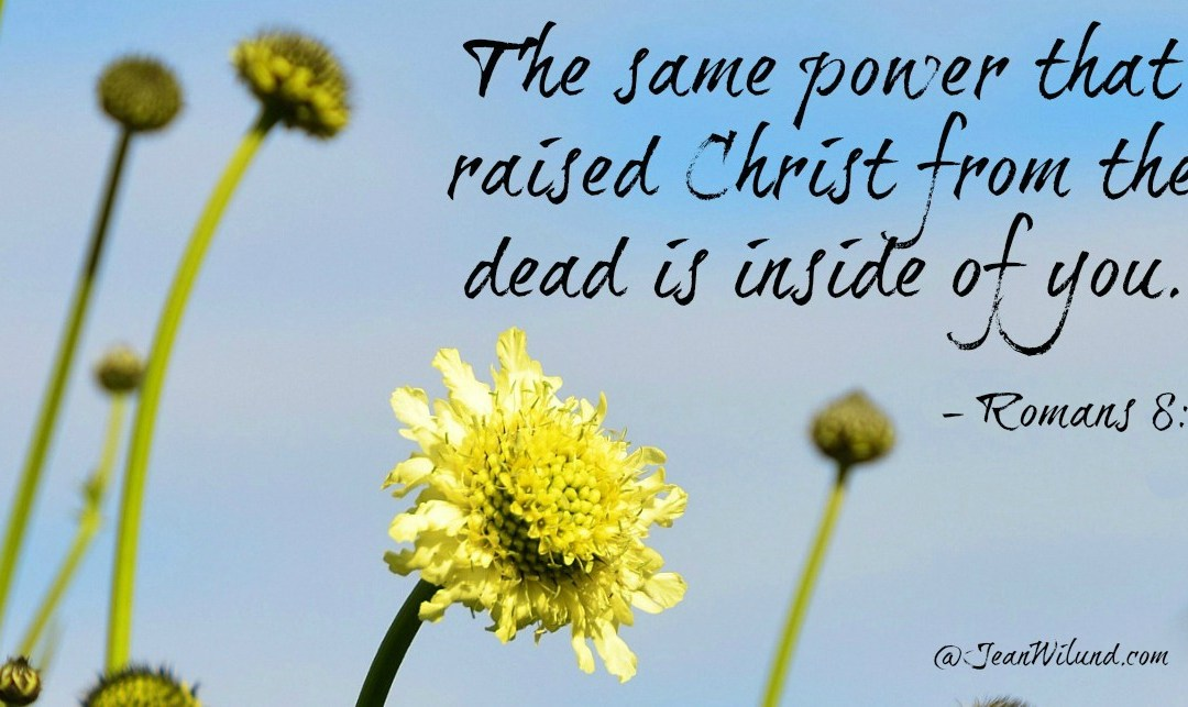 Christ's Resurrection Power In You – Praise Picture & Poem