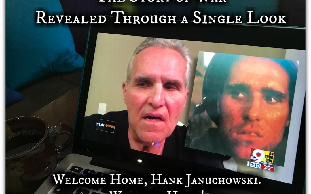 The Story of War  Revealed Through a Single Look – Welcome Home, Hank Januchowski