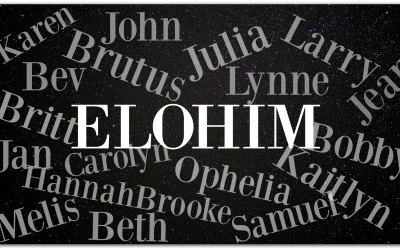 The Power of a Name – Elohim