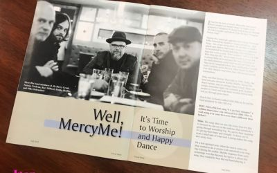 Well, MercyMe! It's Time to Worship and Happy Dance