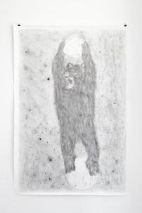Quentin Armand, Les fantômes de Magellan, 2012 Mine de plomb sur papier 145 x 102 cm © Quentin Armand. Courtesy Galerie E.G.P
