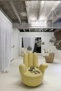 Vue de l'exposition de Mélanie Matranga. Photo : Aurélien Mole