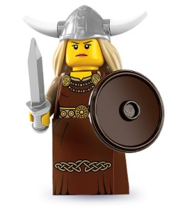 Viking Woman Lego