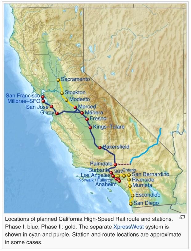 California HSR Original Route - Wikipedia