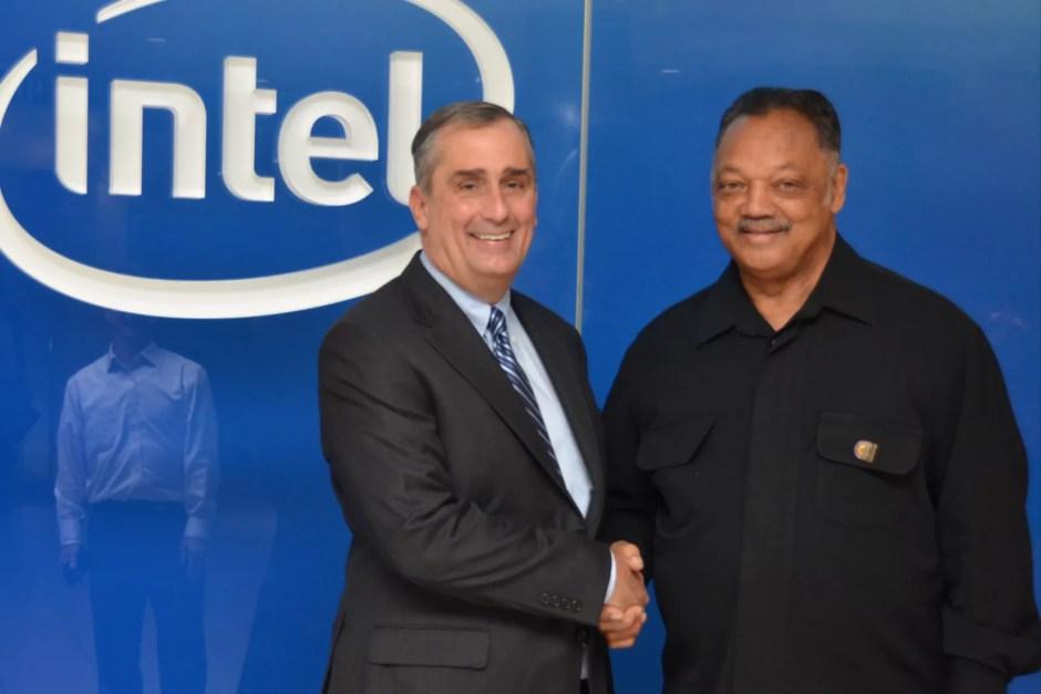 Jesse Jackson at Intel - photo Recode/PushTECH2020