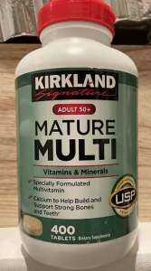 Typical multivitamin for older people