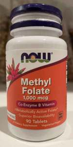 Methyl-Folate-1000mcg