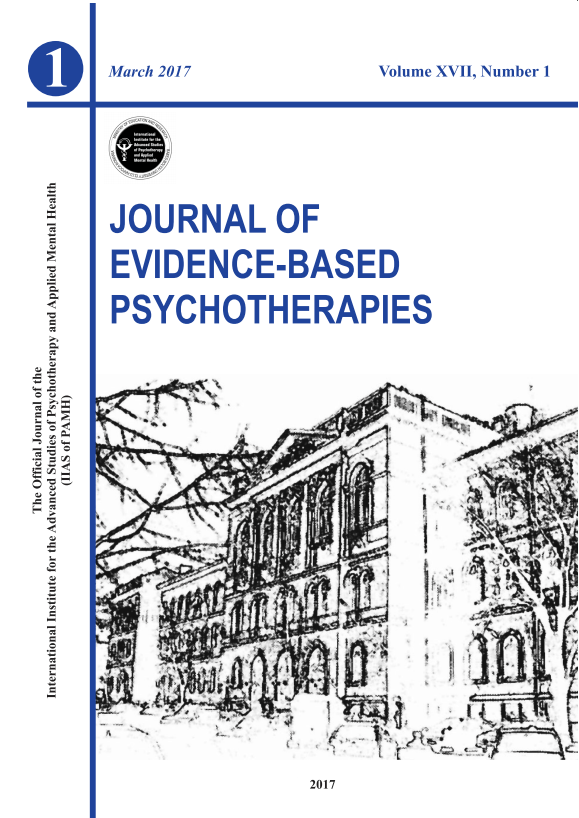 Journal of Evidence-Based Psychotherapies
