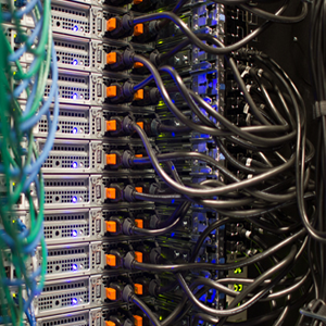 Web servers in rack