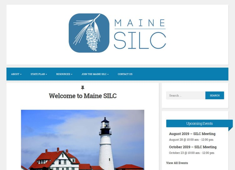 Screen shot Maine SILC