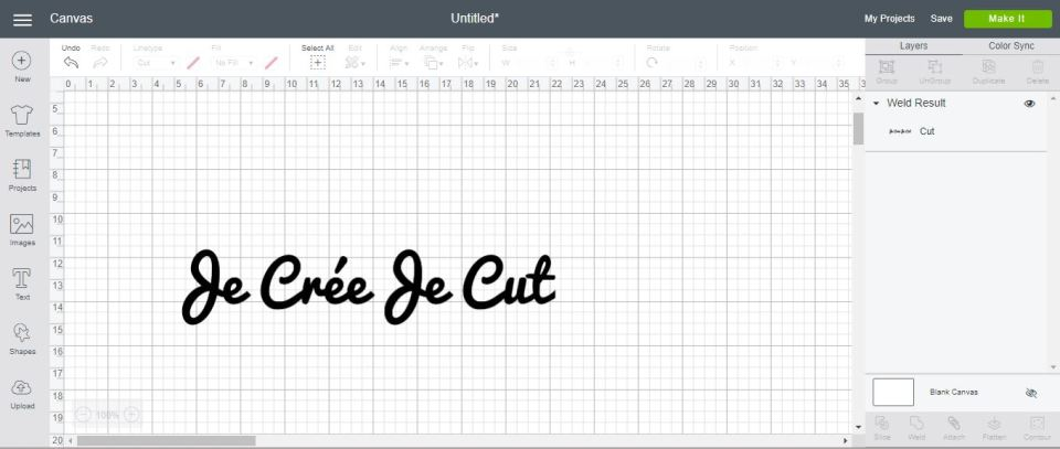 cricut design space souder tutoriel français