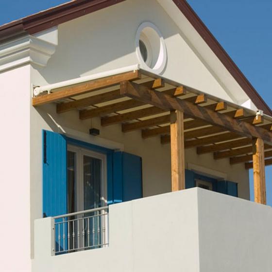 store pour toit de pergola ou veranda