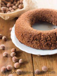 savarin chocolat noisette