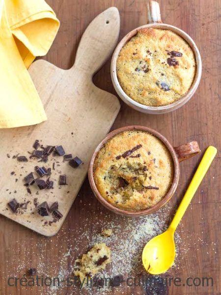 mug cake polenta