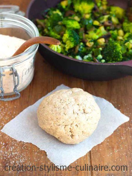 tarte sans gluten psyllium
