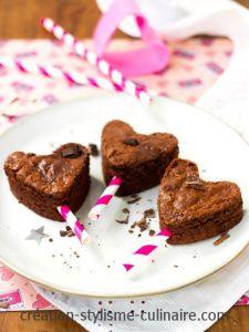 gâteau sans gluten au chocolat coeur st valentin