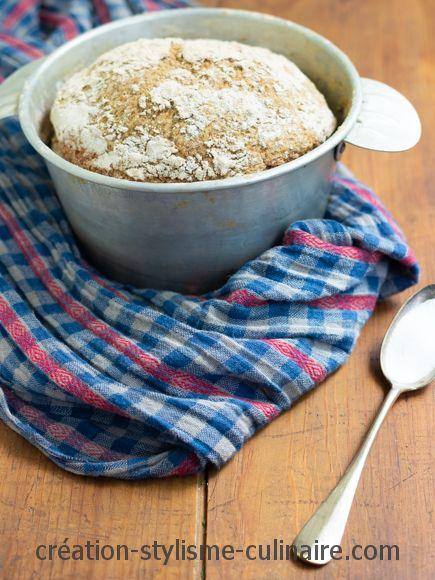 Pain sans gluten bicarbonate eau gazeuse
