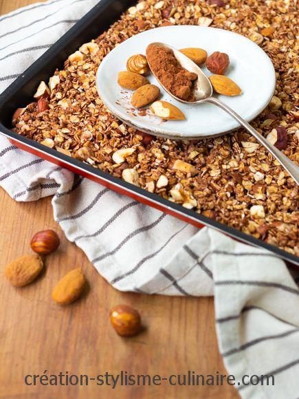 granola chocolat noisette amande