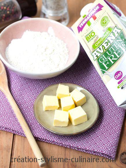 ingrédients béchamel lait avoine terra e pane