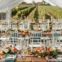 Šik venčanje u prirodi