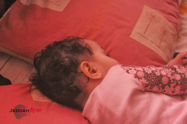 Some days they sleep some days they don't | JeddahMom