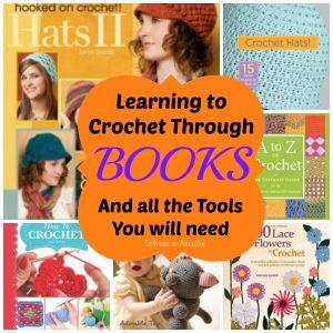 learning crochet through books