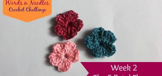 flower crochet challenge