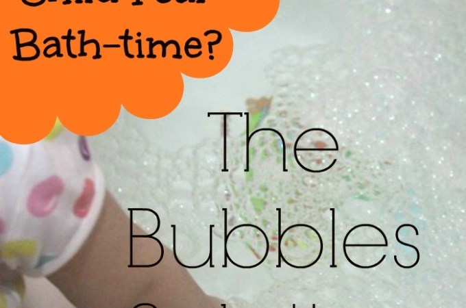Bath Time Battles- The Bubble Solution