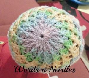 candy swirl crochet hat wordsnneedles