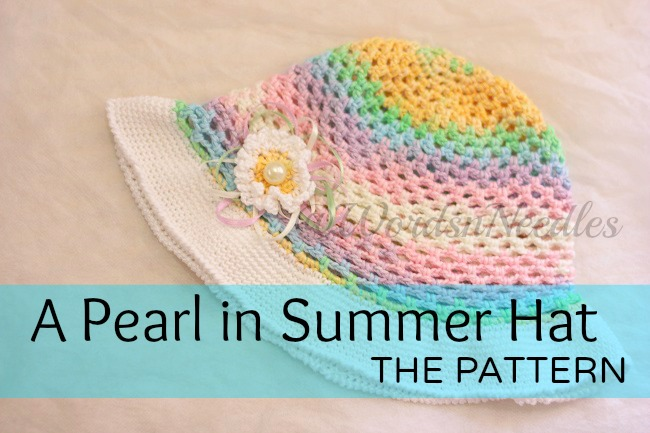 A Pearl In Summer Hat- Free Pattern