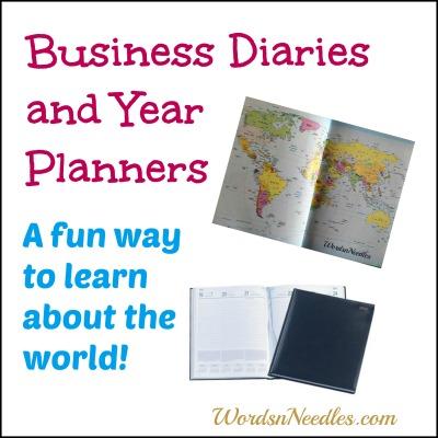 business diaries teach kids wordsnneedles
