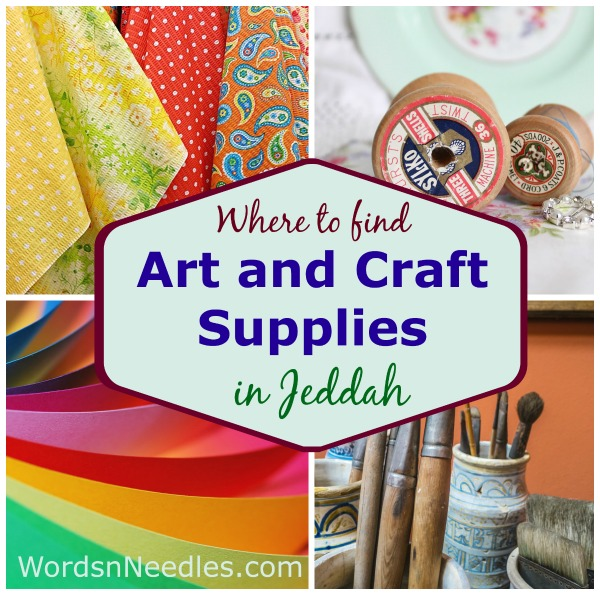 Where to find art and craft supplies in jeddah arts and crafts supplies in jeddah wordsnneedles publicscrutiny Image collections