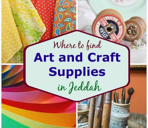Where to find art and craft supplies in Jeddah