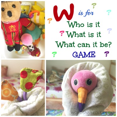 W is for Who is it-What is it Guessing Game