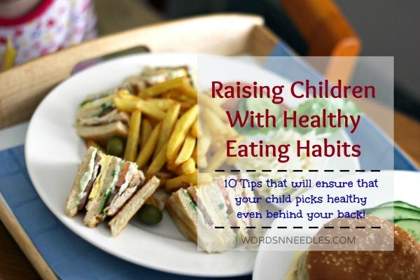 healthy eating habits children wordsnneedles