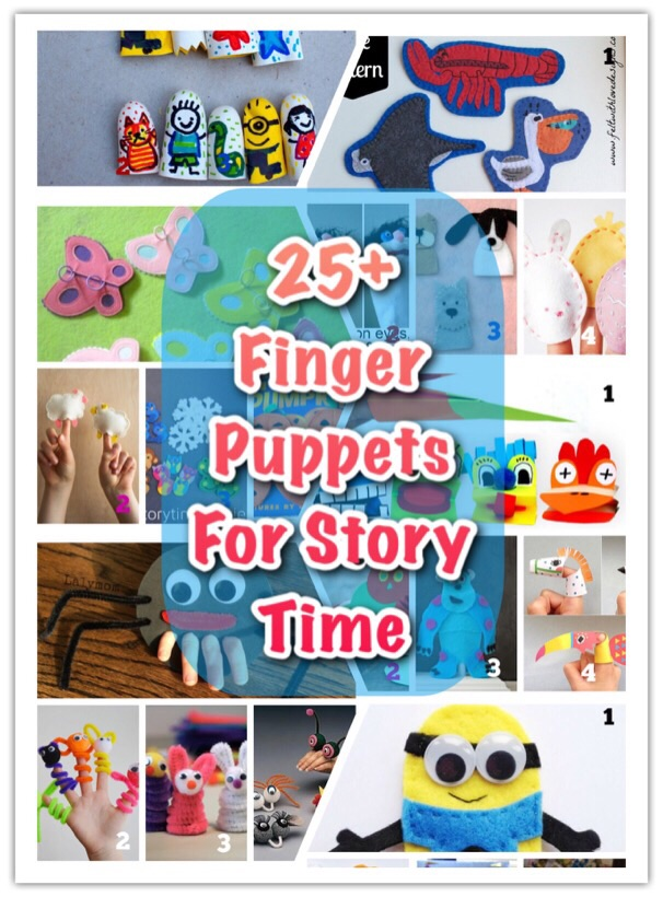 25+ Finger Puppets For Story Time