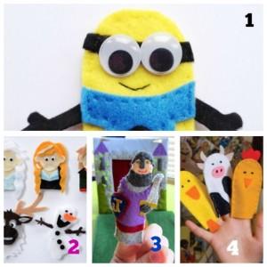 felt patterns for finger puppets story time